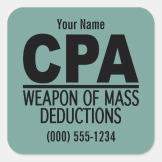CPA custom color stickers