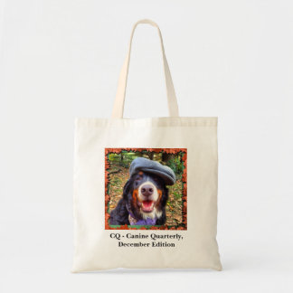 CQ - Canine Quarterly, December Edition Tote Bag