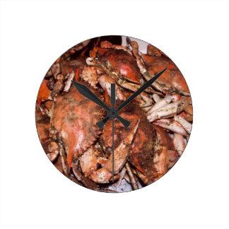 Crab Feast Wall Clock