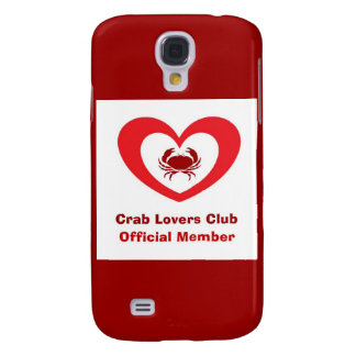 Crab Lovers Club Official Member Galaxy S4 Case