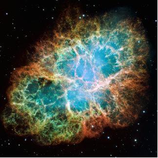 Crab Nebula – Hubble Telescope Standing Photo Sculpture