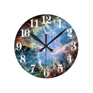Crab Nebula in Space NASA Clocks