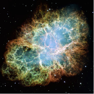 Crab Nebula Photo Cut Outs