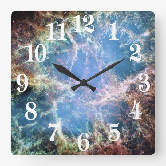 Crab Nebula Supernova NASA Clock