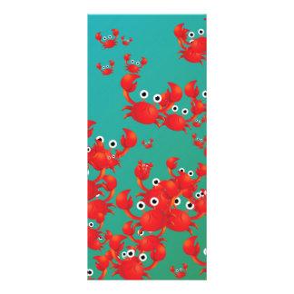 Crab world rack card template