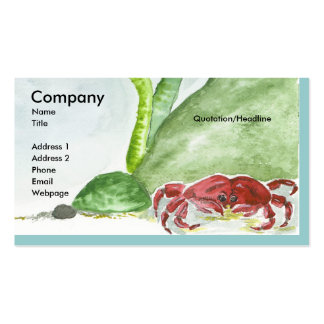 Crabby/Bubbles Pack Of Standard Business Cards
