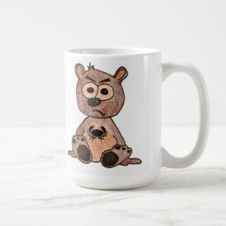 Crabby Heart Bear Mug