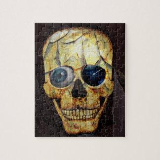 Cracked Skull Jigsaw Puzzle