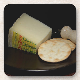 Crackers and Cheese Beverage Coaster