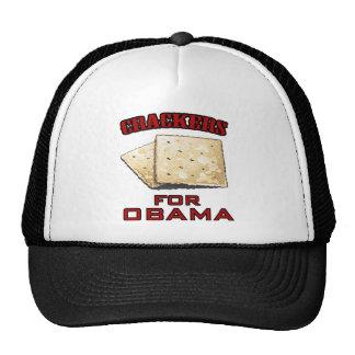 Crackers for Obama Cap