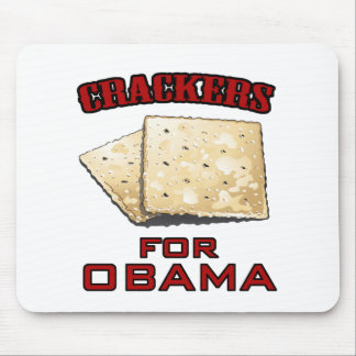 Crackers for Obama Mouse Pad
