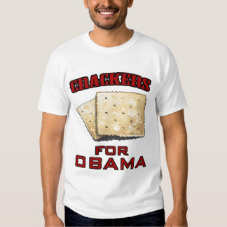 Crackers for Obama T-shirt