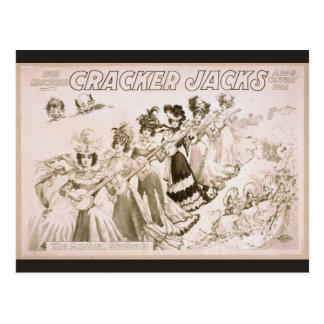Crackers Jacks The Musical Students Vintage The Postcard