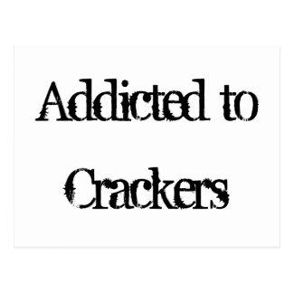 Crackers Postcard