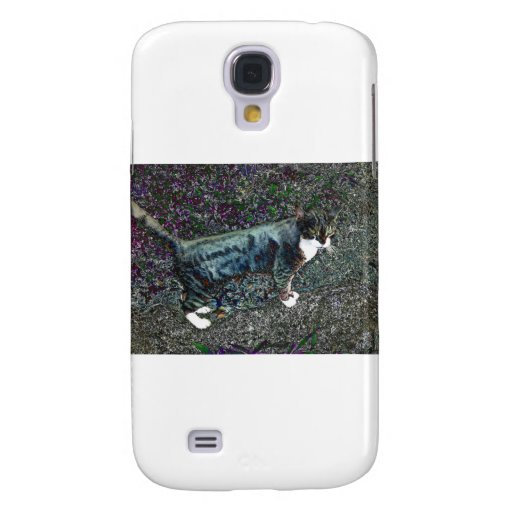Crackers the Cat Galaxy S4 Cases