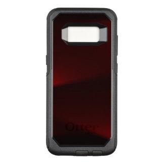 Cranberry & Black Lights OtterBox Commuter Samsung Galaxy S8 Case