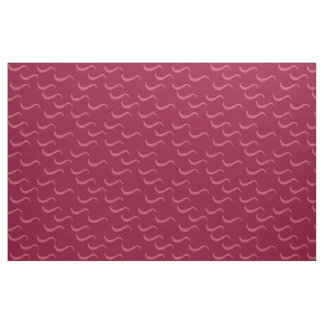 Cranberry Waves Fabric