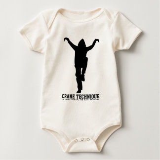 Crane Technique - If done right, no can defend Baby Bodysuit