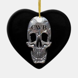 Cranium Sound Ghost Christmas Ornament