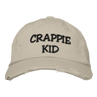 CRAPPIE KID - EMBROIDERED (AND CUSTOMIZABLE) HAT EMBROIDERED CAP