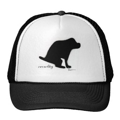 """""""Crapping on Cruelty"""" Hat"""