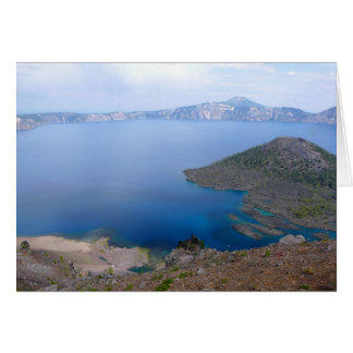Crater lake card