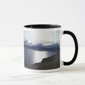 Crater Lake clouds Mug