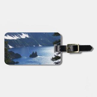 Crater Lake Luggage Tag