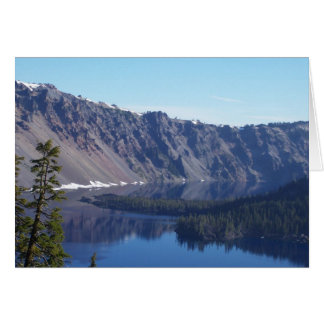 Crater Lake Morning Card