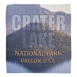 Crater Lake National Park Bandanna
