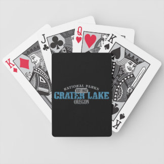 Crater Lake National Park Bicycle Poker Cards