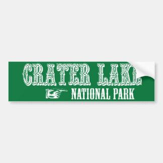 Crater Lake National Park Car Bumper Sticker
