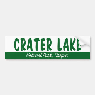 Crater Lake National Park Bumper Sticker