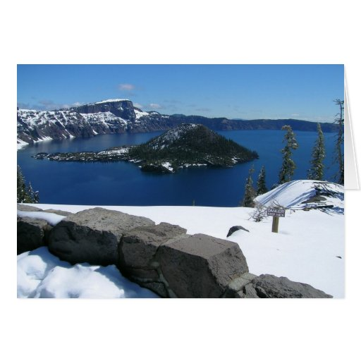 Crater Lake National Park Greeting Cards