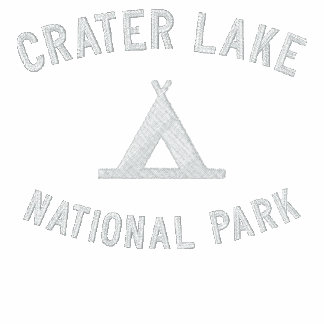 Crater Lake National Park Embroidered Hoody