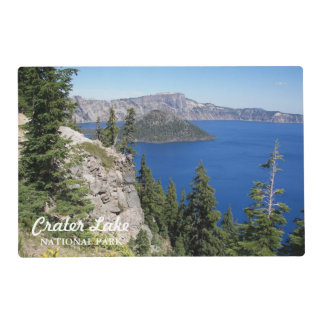 Crater Lake National Park Laminated Placemat