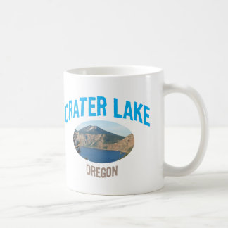Crater Lake National Park Classic White Coffee Mug
