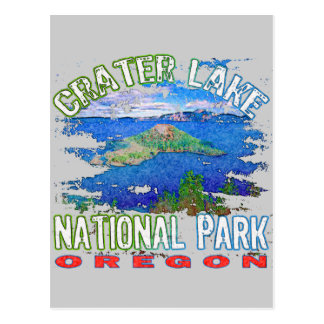 Crater Lake National Park Oregon Postcard