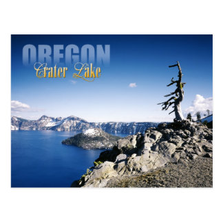 Crater Lake National Park, Oregon Postcard
