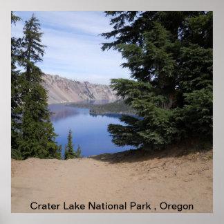 Crater Lake National Park , Oregon Print