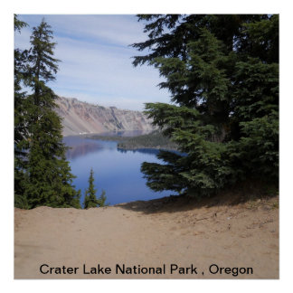 Crater Lake National Park Oregon Print