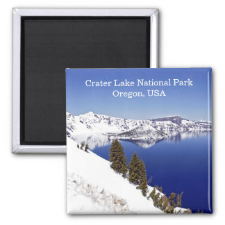 Crater Lake National Park Oregon USA Travel Magnet