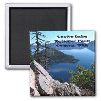 Crater Lake National Park Oregon USA Travel Magnet