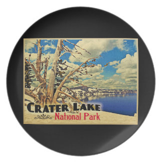 Crater Lake National Park Party Plates