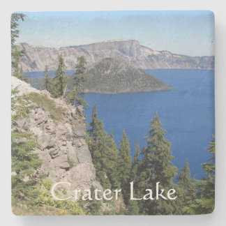 Crater Lake National Park Photo Stone Coaster