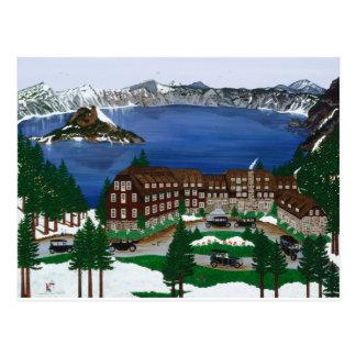 Crater Lake National Park Post Card
