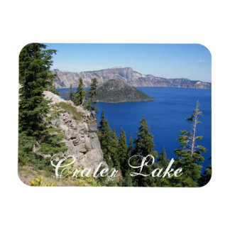Crater Lake National Park Rectangular Photo Magnet