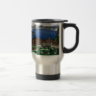 Crater Lake National Park Stainless Steel Travel Mug