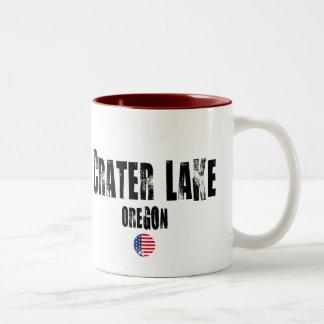 Crater Lake National Park Two-Tone Coffee Mug