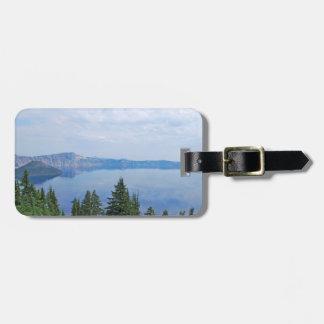 Crater Lake Oregon Luggage Tag
